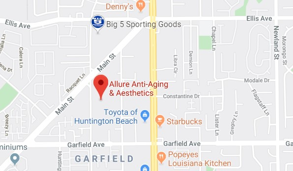 Allure Anti-Aging on Google maps
